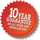 10 year guarantee on tile and stone