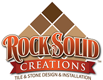 Rock Solid Creations tile and stone installation and design